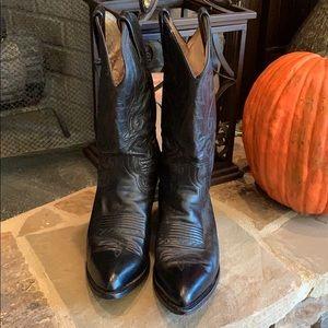 Dan Post Western Black Boot.   Women's 9 (Men 7.5)